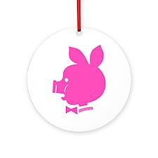 Pyatochok sexy pink Round Ornament