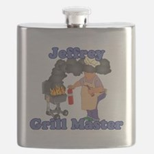 Grill Master Jeffrey Flask