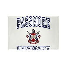PASSMORE University Rectangle Magnet