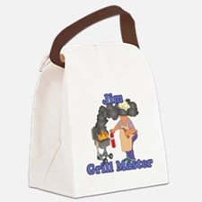 Grill Master Jim Canvas Lunch Bag