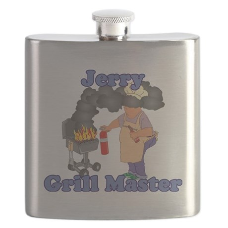 Grill Master Jerry Flask