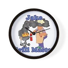Grill Master Jake Wall Clock