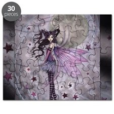 purple passion fairy by Molly Harrison Puzzle