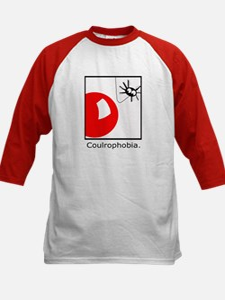 Coulrophobia (Fear of Clowns) Kids Baseball Jersey
