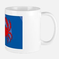 Crab Oval Hitch Mug