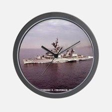 uss techandler calendar Wall Clock