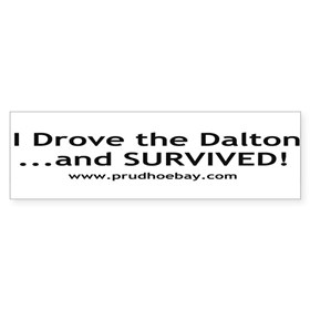 Dalton Bumper Sticker