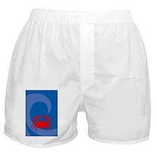 Crab Kindle Sleeve Boxer Shorts