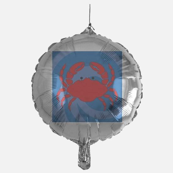 Crab Shower Curtain Balloon