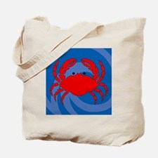 Crab Shower Curtain Tote Bag