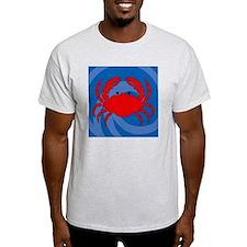 Crab Shower Curtain T-Shirt