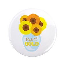 """Pot O Gold 3.5"""" Button"""