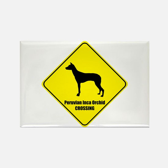 Inca Orchid Crossing Rectangle Magnet (100 pack)