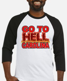 Go To Hell Carolina Baseball Jersey