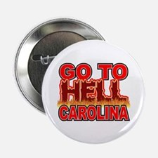 """Go To Hell Carolina 2.25"""" Button (10 pack)"""