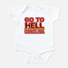 Go To Hell Carolina Infant Bodysuit