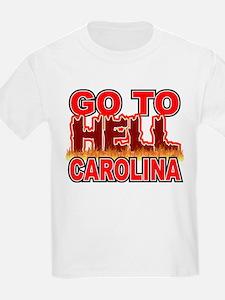 Go To Hell Carolina Kids T-Shirt