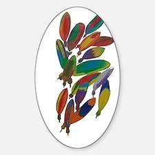 Native American Sticker (Oval)