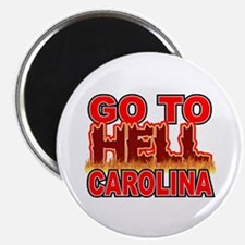 """Go To Hell Carolina 2.25"""" Magnet (10 pack)"""