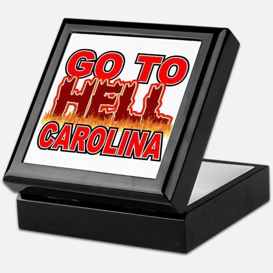 Go To Hell Carolina Keepsake Box