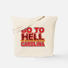 Go To Hell Carolina Tote Bag