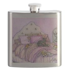 Sighthounds slumber party Flask