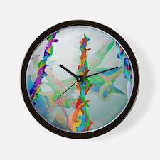 Classical chaos Wall Clock