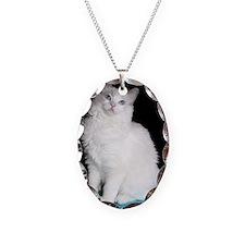 laci Necklace Oval Charm