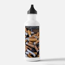 Cigarette ends Water Bottle