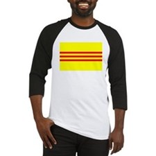 South Vietnam Flag T Shirts Baseball Jersey