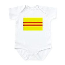 South Vietnam Flag T Shirts Infant Bodysuit