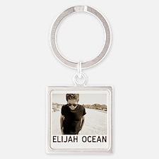 Elijah at Joshua Tree Square Keychain