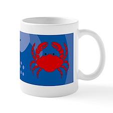 Crab 36 x 11 Wall Mug