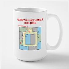 Quantum Mechanics Building Large Mug
