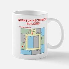 Quantum Mechanics Building Mug