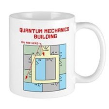 Quantum Mechanics Building Mug