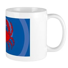 Crab License Plate Mug