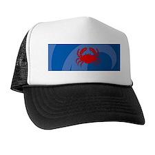 Crab 20x6 Wall Trucker Hat
