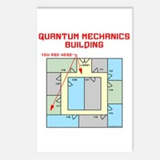 Quantum Mechanics Building Postcards (Package of 8