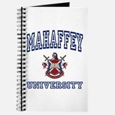 MAHAFFEY University Journal