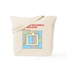 Quantum Mechanics Building Tote Bag