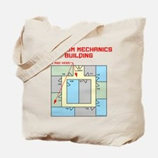 Quantum Mechanics Building Tote Bag