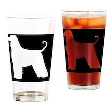 Afghan Hound Drinking Glass