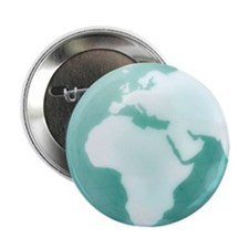 "Globe of Africa Europe and the Middle 2.25"" Button"
