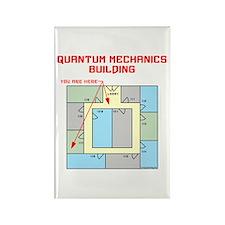 Quantum Mechanics Building Rectangle Magnet