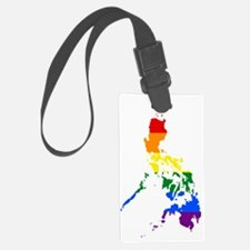 Gay Pride Flag the Philippines Luggage Tag