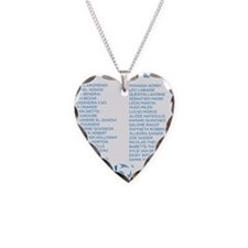 Class of 2012 - blue Necklace