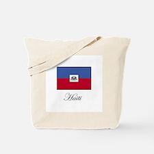 Haiti - Haitian Flag Tote Bag