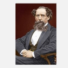 Charles Dickens, British  Postcards (Package of 8)