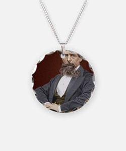 Charles Dickens, British aut Necklace